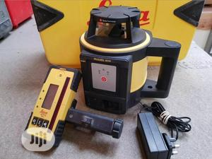 Leica Rugby 810 Laser Level C/W Receiver, Staff and Tripod   Measuring & Layout Tools for sale in Oyo State, Ibadan