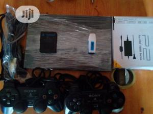 Sony Playstation 2 Slim + 10 Games + Full Accessories | Video Game Consoles for sale in Lagos State, Surulere