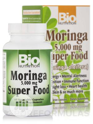 Moringa Super Food 5000 Mg (Boost Heart Health Vitality) - 60 Vcaps   Vitamins & Supplements for sale in Lagos State, Alimosho