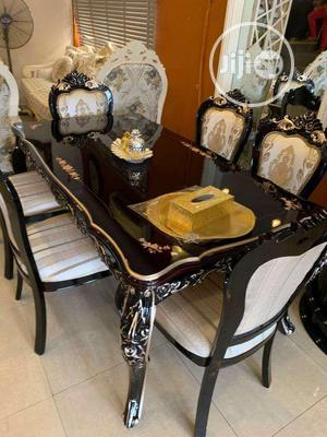 Imported Wooden Dining Table 6 Seaters at Affordable Price | Furniture for sale in Lagos State, Lekki