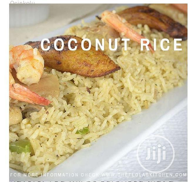 Coconut Rice And Coconut Moimoi