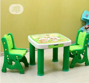 Children Kids Furniture Set Plastic Kids Table And Chair   Children's Furniture for sale in Lagos State, Ajah