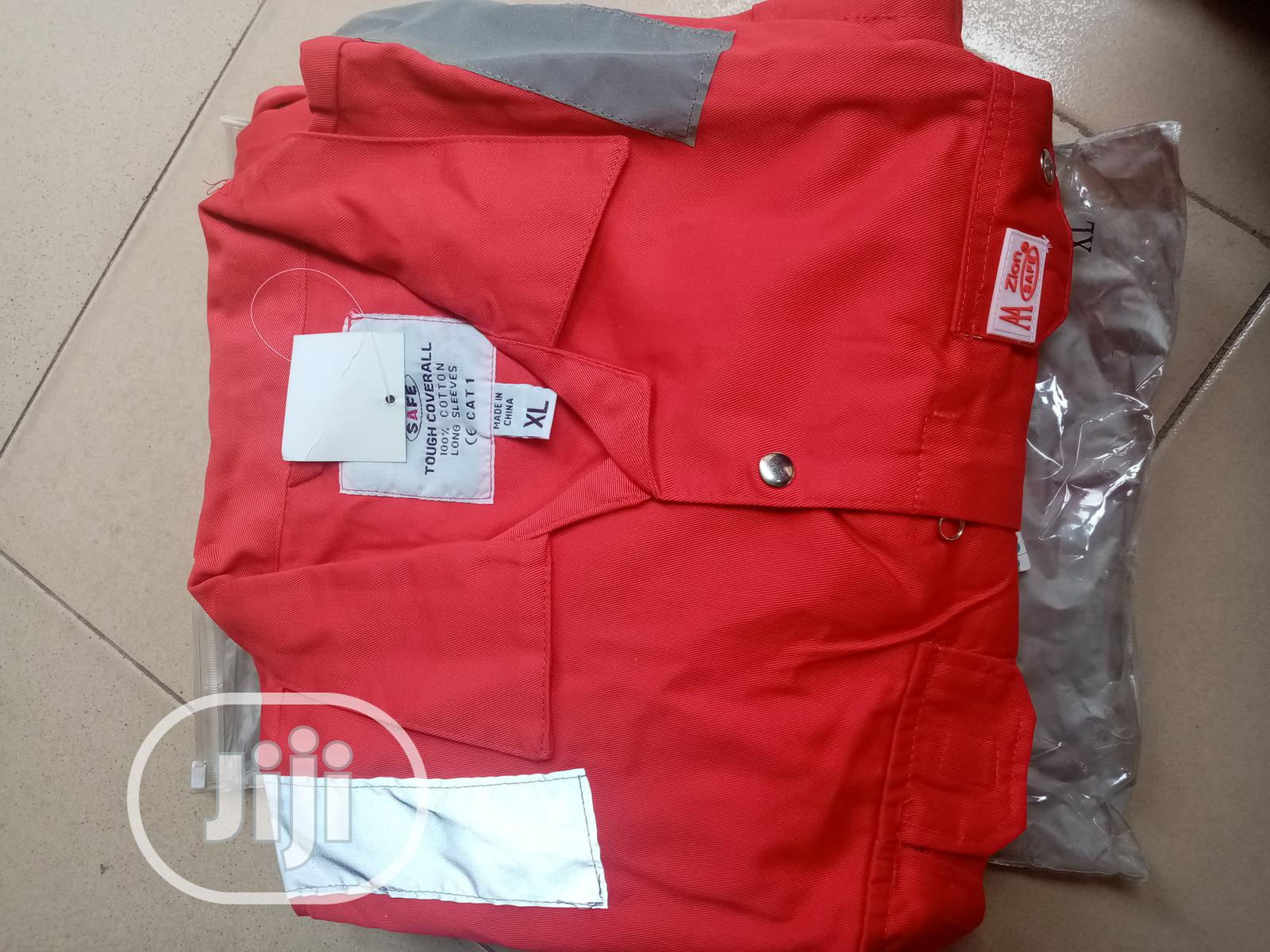 Safety Coverall With Reflective   Safetywear & Equipment for sale in Amuwo-Odofin, Lagos State, Nigeria