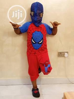 Spiderman Net Face 2 Piece Set   Children's Clothing for sale in Lagos State, Amuwo-Odofin