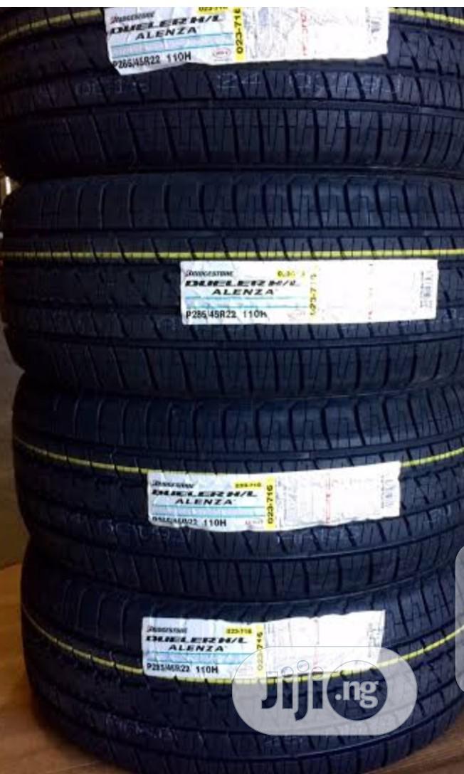 Bridgestone,Far Road Tyre for Jepps ( 285/45r22