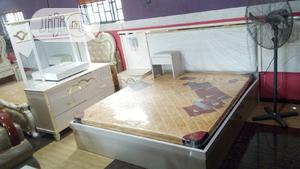 Quality Classic Set Of Bed With Mattress   Furniture for sale in Lagos State, Ipaja