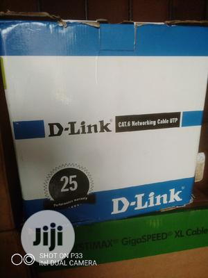 D Link Cat6 Cable Pure Copper   Security & Surveillance for sale in Lagos State, Ikeja