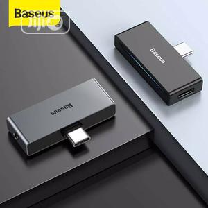 Baseus USB Type C To 3.5mm Jack AUX USB Adapter | Accessories for Mobile Phones & Tablets for sale in Lagos State, Ikeja