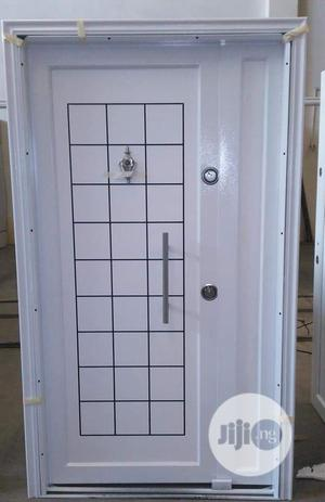 White Security Door 4ft X7ft   Doors for sale in Lagos State, Orile