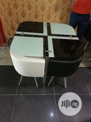 Quality Italian White And Black Designer Dining Table   Furniture for sale in Lagos State, Ajah