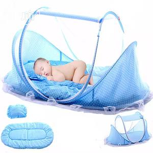 Foldable Baby Bed With Mattress, Mosquito Net And Pillow | Children's Gear & Safety for sale in Abuja (FCT) State, Dei-Dei