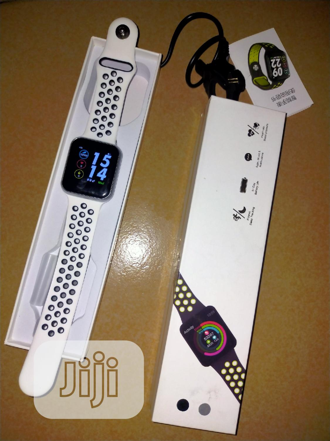 Smart Fitness Tracker, BP & Heart Rate Monitor   Smart Watches & Trackers for sale in Ikeja, Lagos State, Nigeria