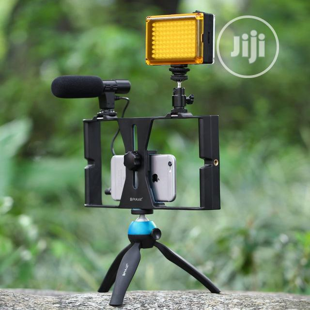 3in1 Phone Selfie Led Broadcast Tripod Stand