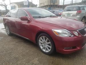 Lexus GS 2007 300 Red | Cars for sale in Lagos State, Ikeja