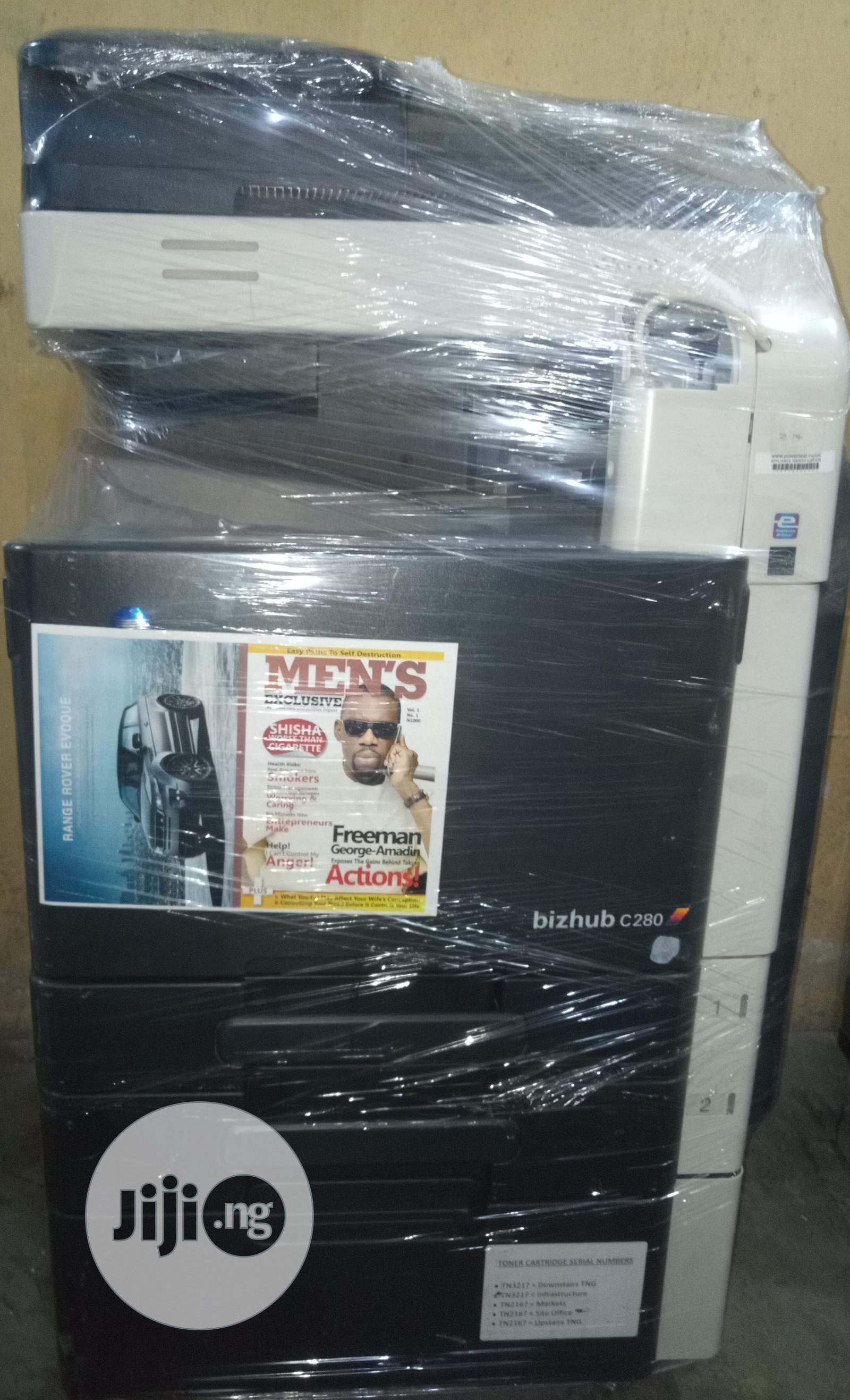 Konica Minolta Bizhub C280 Colour Multifunctional Printer