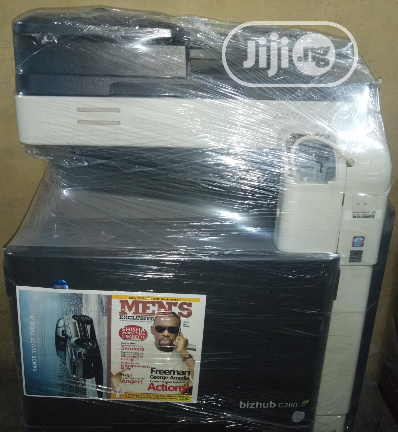 Konica Minolta Bizhub C280 Colour Multifunctional Printer   Printers & Scanners for sale in Surulere, Lagos State, Nigeria