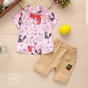 Boys Classy Shorts Sets | Children's Clothing for sale in Lagos State, Surulere