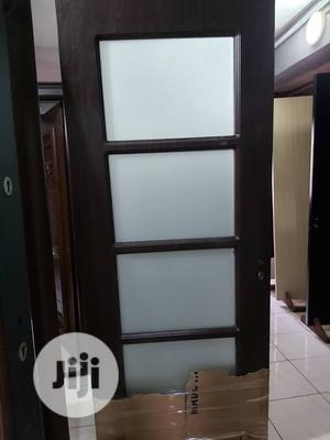 Wooden With Glass, Best Door For Your Kitchen   Doors for sale in Lagos State, Orile