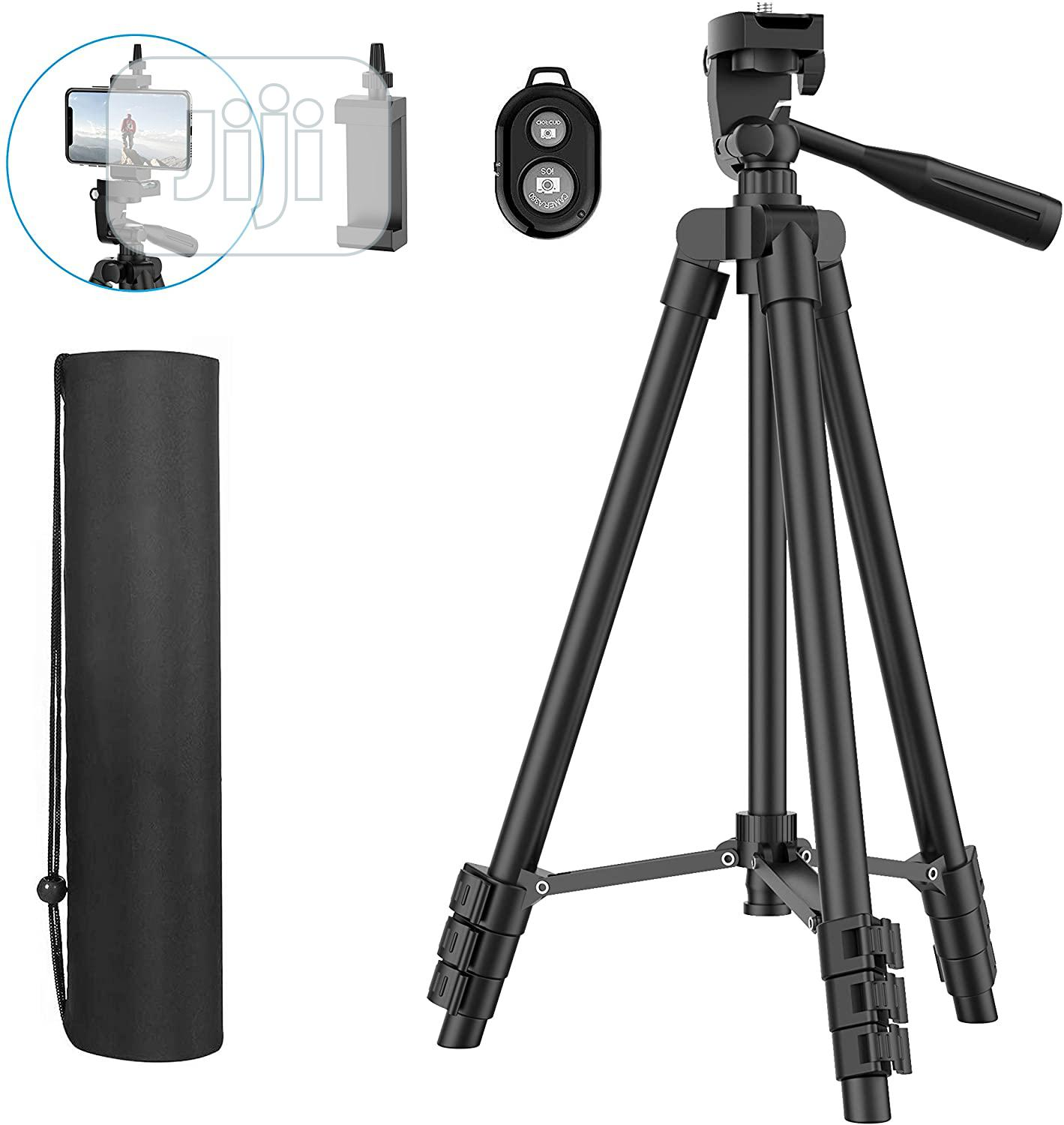 Mobile Phone And Digital Camera Tripod With Remote