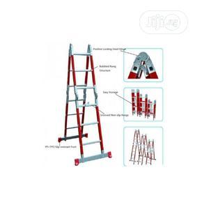 Comaat 4x4 Fiberglass Multi Purpose Ladder - Non-conductive Ladder | Hand Tools for sale in Lagos State, Lagos Island (Eko)