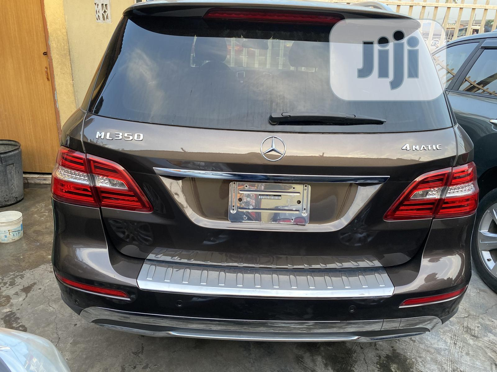 Mercedes-Benz M Class 2014 Brown | Cars for sale in Surulere, Lagos State, Nigeria