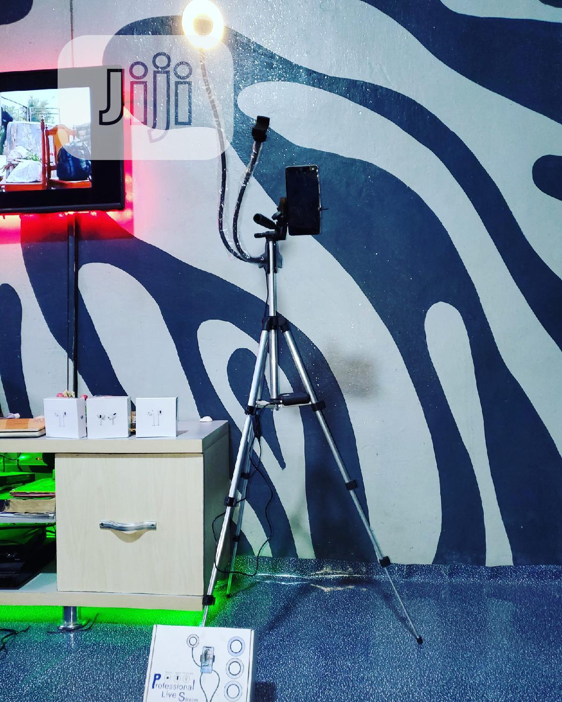 LED Selfie Ring Light For Live Stream/Makeup/Youtube Video