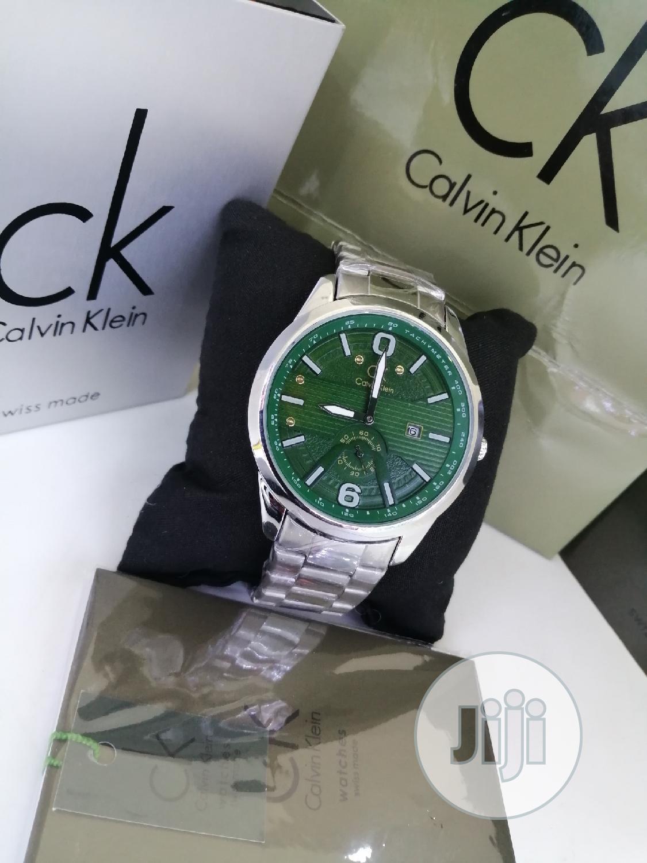 Calvin Klein (CK) Silver Chain Watch