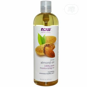 Almond Oil By Now Solutions | Skin Care for sale in Lagos State, Ajah
