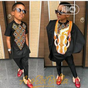 Lovely Agbada Wears for Boys-Black | Children's Clothing for sale in Lagos State, Ojodu