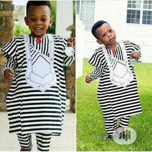 Black and White Sweet Boys Agbada | Children's Clothing for sale in Lagos State, Ojodu