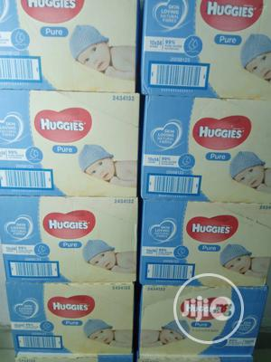 Huggies Pure Wipes (Pack Of 10) | Baby & Child Care for sale in Lagos State, Ifako-Ijaiye