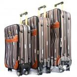 4 Wheel Trolley Luggage (Stripe Design)   Bags for sale in Lagos State