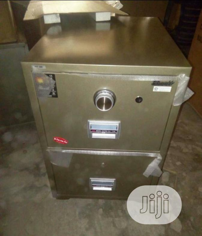 Brand New Imported 2drawers Fire Proof Safe With Security Numbers.