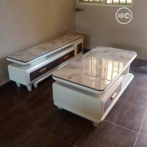 New Design Tv Stand With Table | Furniture for sale in Lagos State, Ikorodu