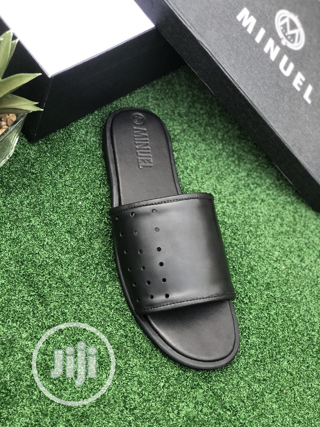 Black Leather Cover Palm | Shoes for sale in Mushin, Lagos State, Nigeria