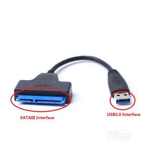 USB 3.0 To Sata Adapter, 22pin Sataiii To USB3 Converter Cable, 0 Adap   Accessories & Supplies for Electronics for sale in Lagos State, Ikeja
