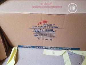 12V 200ah Ritar Solar Battery   Solar Energy for sale in Lagos State, Ojo