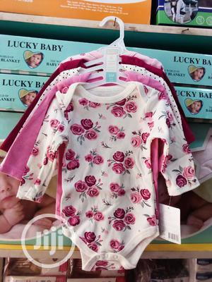 Baby 5piece Long Sleeve Bodysuit   Children's Clothing for sale in Lagos State, Ikeja