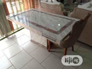 Quality Crystal Marble Dining Table | Furniture for sale in Lagos State, Badagry