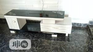 Durable Adjustment Tv Stand With Glass Top | Furniture for sale in Lagos State, Ojota
