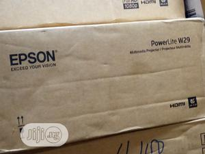 Epson Powerlite W29 WXGA Projector 3,000 Lumens | TV & DVD Equipment for sale in Lagos State, Lekki
