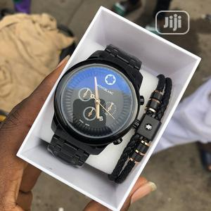 Montblanc Black Chain Watch and Bracelets for Women's   Watches for sale in Lagos State, Lagos Island (Eko)
