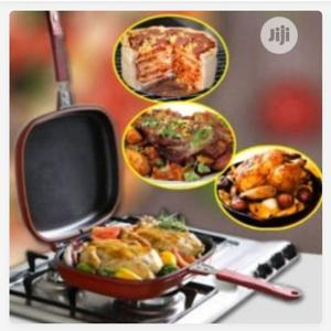 Happy Call Double Sided Grill Non Stick Pan | Kitchen & Dining for sale in Lagos State, Mushin