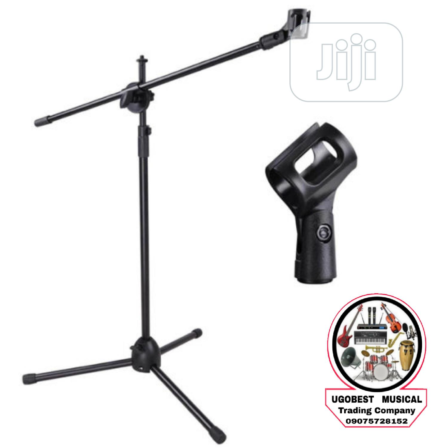 3leg Mic Stand   Musical Instruments & Gear for sale in Mushin, Lagos State, Nigeria