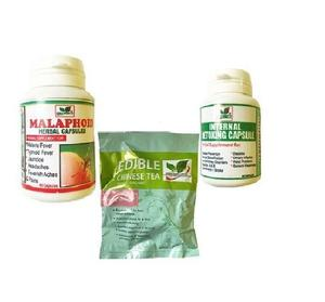 Edible Herbs Ltd Supplement Combo for Stubborn Typhoid and Malaria   Vitamins & Supplements for sale in Lagos State, Agege