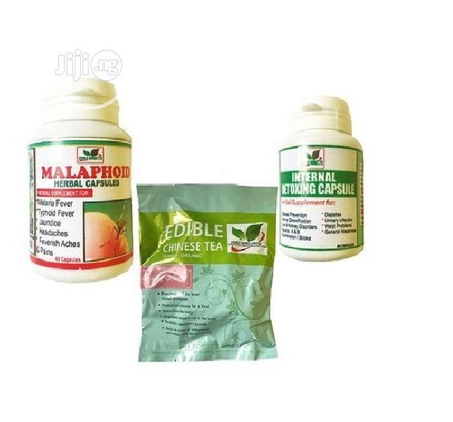 Edible Herbs Ltd Supplement Combo for Stubborn Typhoid and Malaria