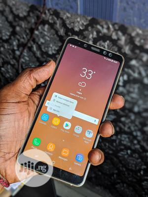 Samsung Galaxy A8 Plus 32 GB Gold   Mobile Phones for sale in Lagos State, Ikeja