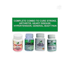 Complete Combo Supplement for Stroke,Heart, Hypertension | Vitamins & Supplements for sale in Lagos State, Agege
