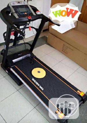 2.5hp De Young Treadmill With Massager Incline Mp3 Waist Twister | Sports Equipment for sale in Lagos State, Surulere