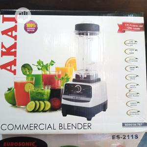 AKAI Heavy Duty Commercial Blender With Ice Crusher- 1500W   Restaurant & Catering Equipment for sale in Lagos State, Ojo